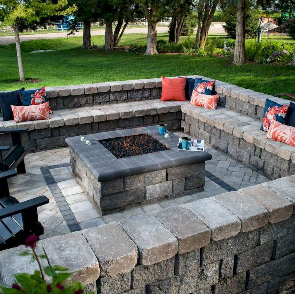 60 Beautiful Backyard Fire Pit Ideas Decoration and Remodel (31)