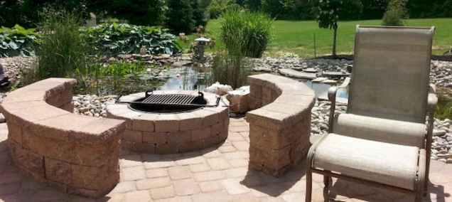 60 Beautiful Backyard Fire Pit Ideas Decoration and Remodel (42)