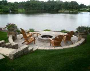 60 Beautiful Backyard Fire Pit Ideas Decoration and Remodel (43)