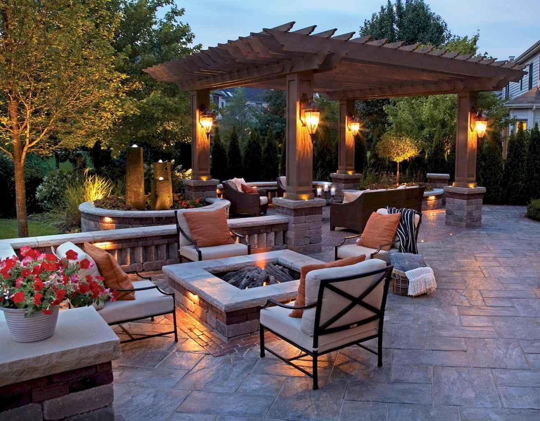 60 Beautiful Backyard Fire Pit Ideas Decoration and Remodel (44)