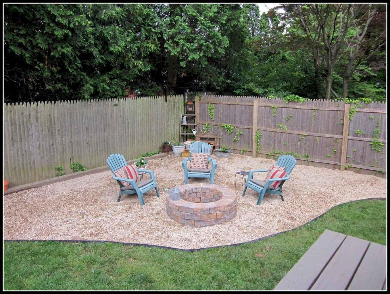 60 Beautiful Backyard Fire Pit Ideas Decoration and Remodel (55)