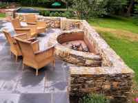 60 Beautiful Backyard Fire Pit Ideas Decoration and Remodel (8)