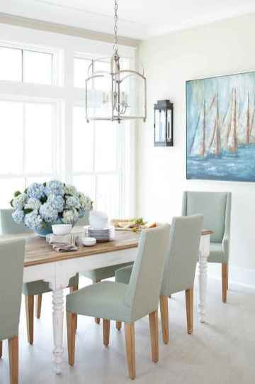 60 Rustic Farmhouse Dining Room Table Decor Ideas and Makeover (31)