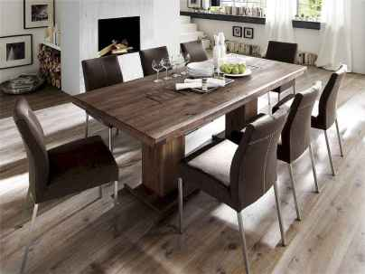 60 Rustic Farmhouse Dining Room Table Decor Ideas and Makeover (8)