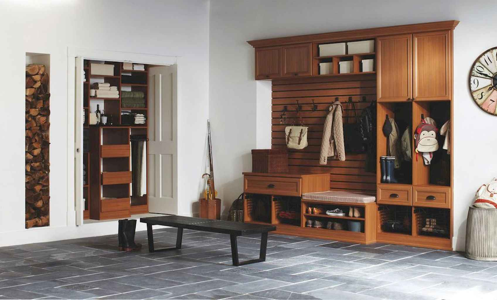 65 Cool Mudroom Design Ideas and Remodel (49)