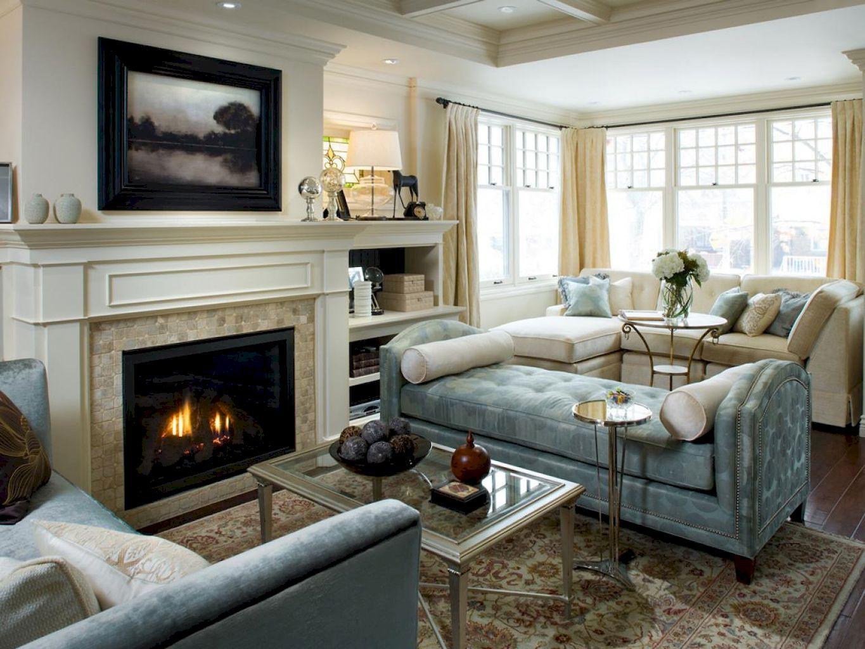 70 Rustic Farmhouse Living Room Decor Ideas (1)