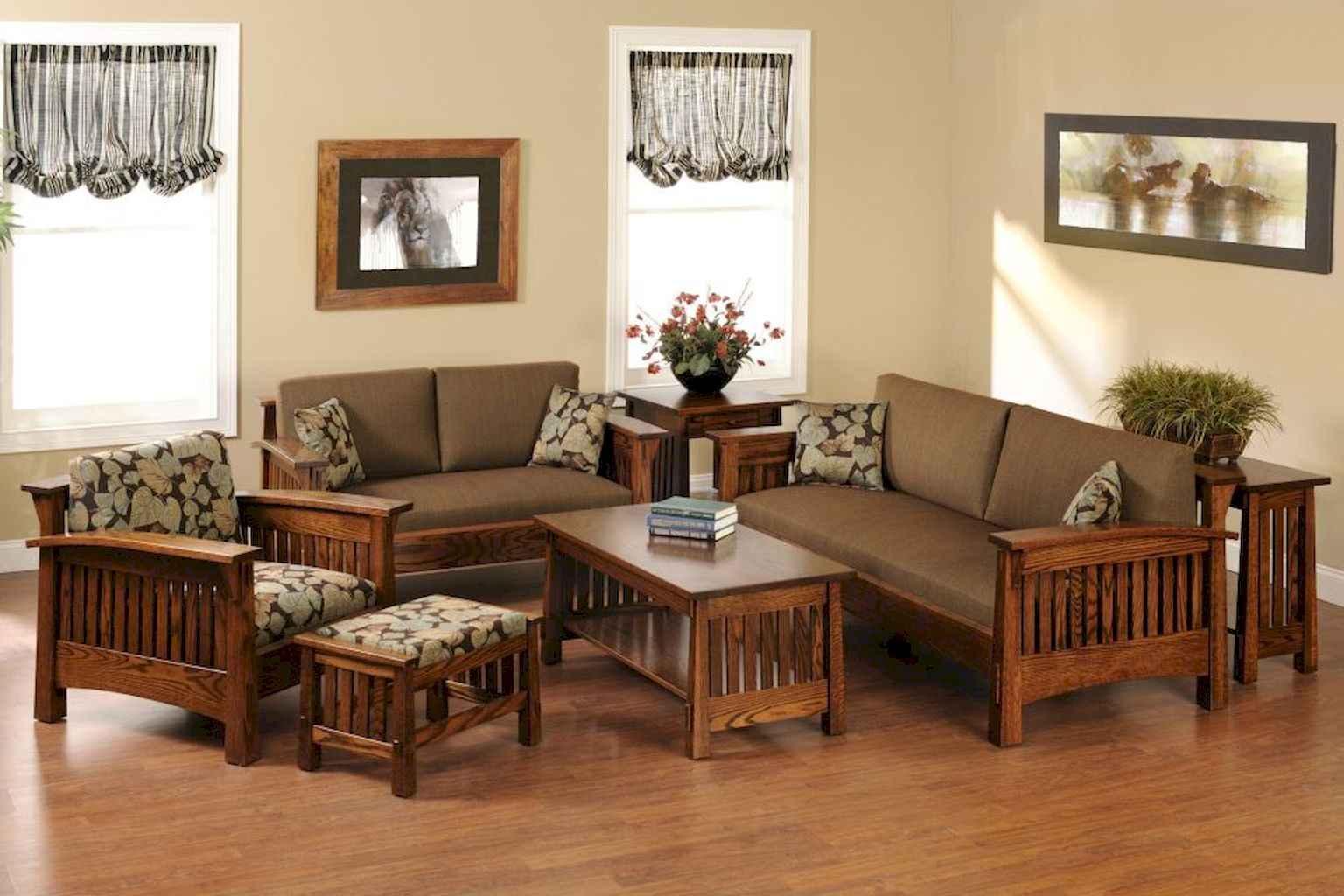 70 Rustic Farmhouse Living Room Decor Ideas (12)
