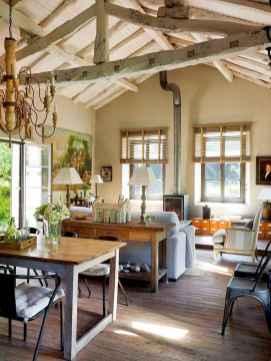 70 Rustic Farmhouse Living Room Decor Ideas (14)