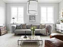 70 Rustic Farmhouse Living Room Decor Ideas (64)