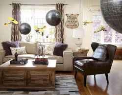 70 Rustic Farmhouse Living Room Decor Ideas (65)