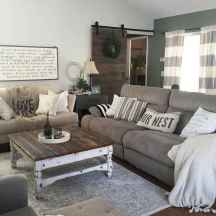 70 Rustic Farmhouse Living Room Decor Ideas (8)