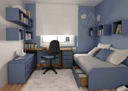 78 Best Small Bedroom Design And Decor Ideas (50)
