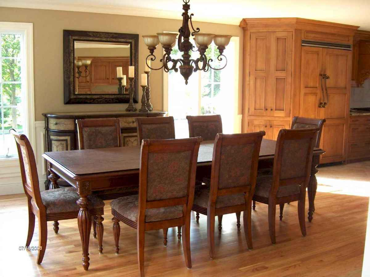 100 Awesome Vintage Dining Table Design Ideas Decorations And Remodel (42)