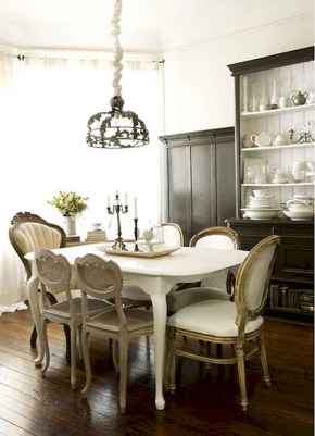 100 Awesome Vintage Dining Table Design Ideas Decorations And Remodel (44)