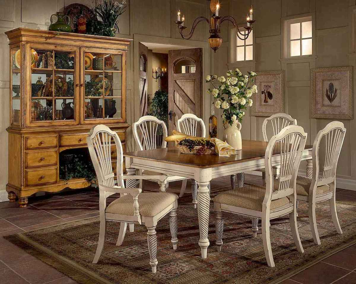 100 Awesome Vintage Dining Table Design Ideas Decorations ...