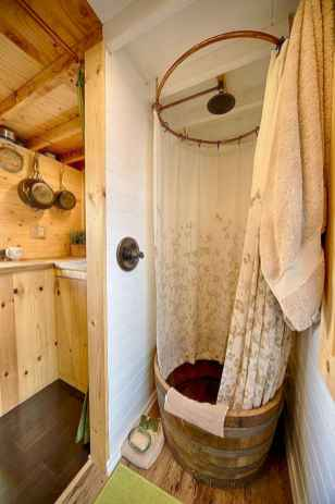 40 Stunning Tiny House Bathroom Shower Design Ideas And Remodel (18)