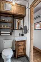 40 Stunning Tiny House Bathroom Shower Design Ideas And Remodel (4)