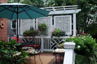 50 Stunning Backyard Privacy Fence Ideas Decorations And Remodel (30)