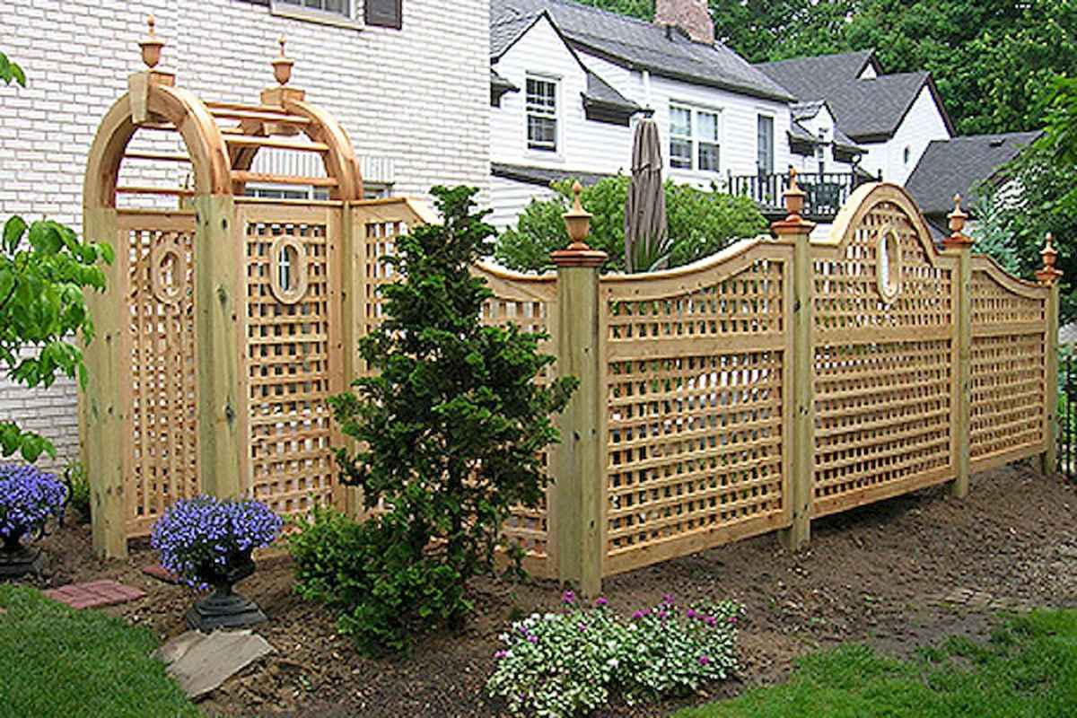 50 Stunning Backyard Privacy Fence Ideas Decorations And Remodel (31)