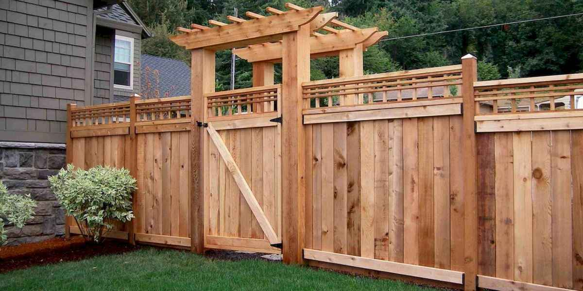 50 Stunning Backyard Privacy Fence Ideas Decorations And Remodel (38)