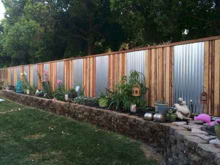 50 Stunning Backyard Privacy Fence Ideas Decorations And Remodel (44)