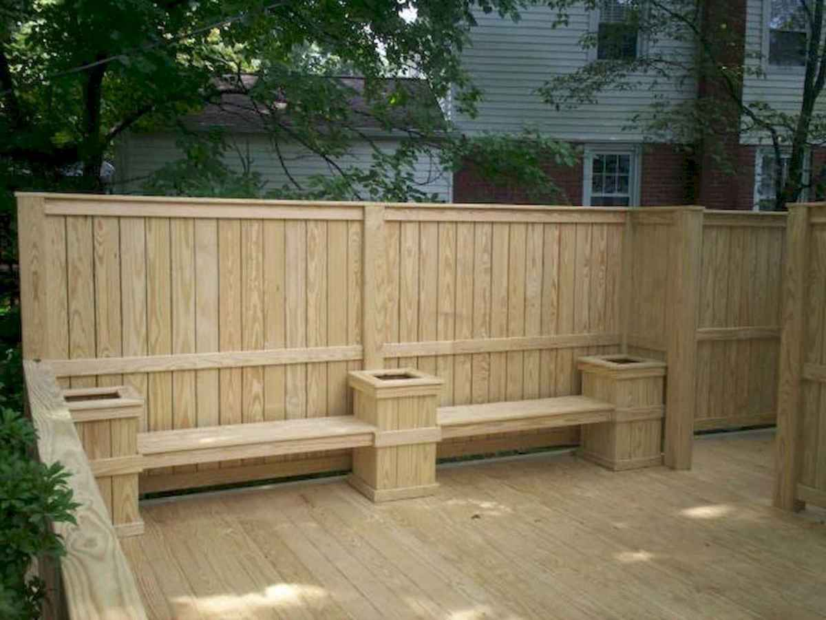 50 Stunning Backyard Privacy Fence Ideas Decorations And Remodel (7)