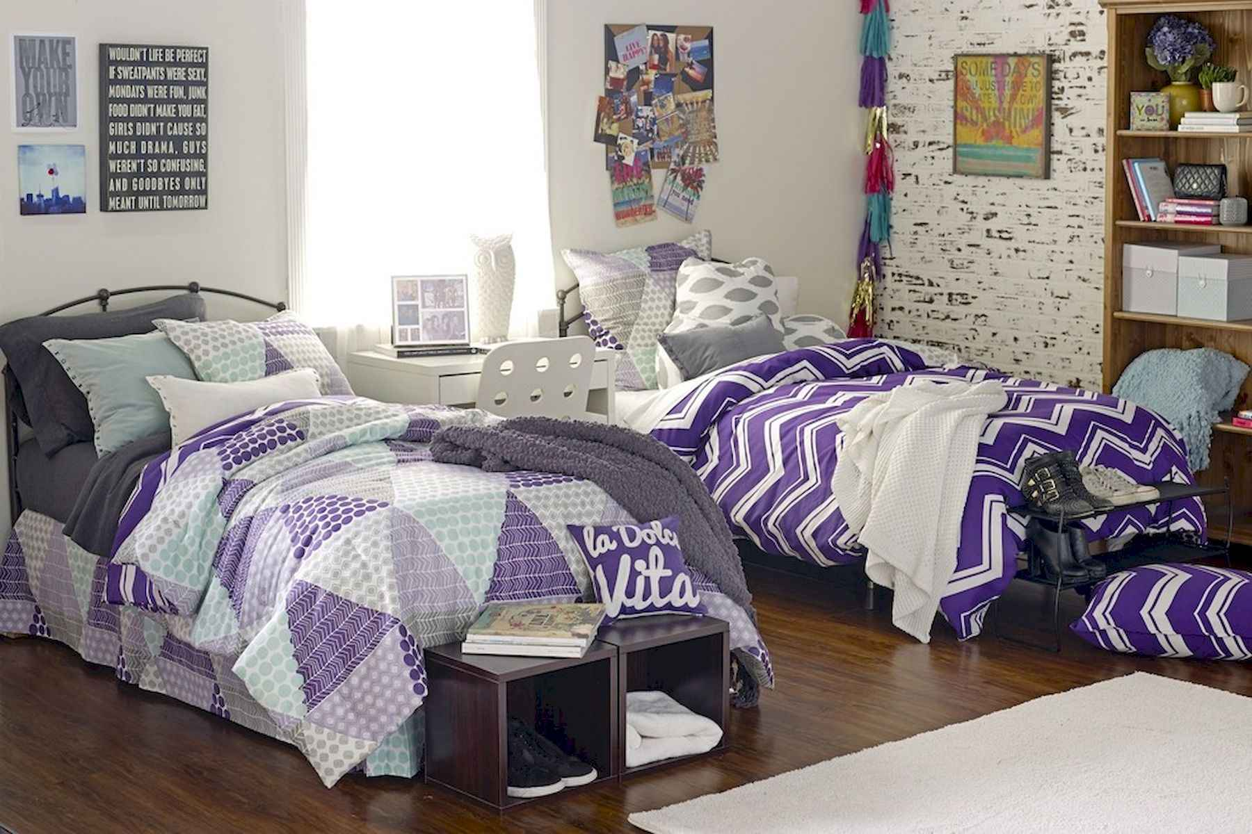 60 Gorgeous College Dorm Room Decorating Ideas And Makeover (16)