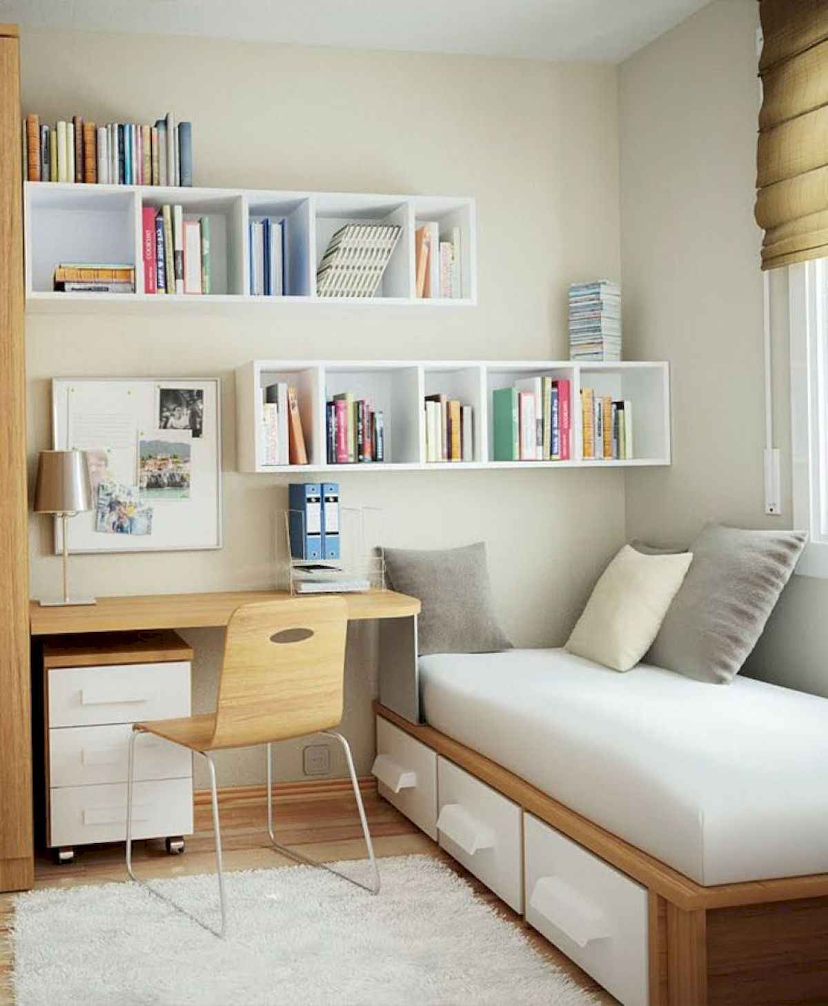 60 Gorgeous College Dorm Room Decorating Ideas And Makeover (22)