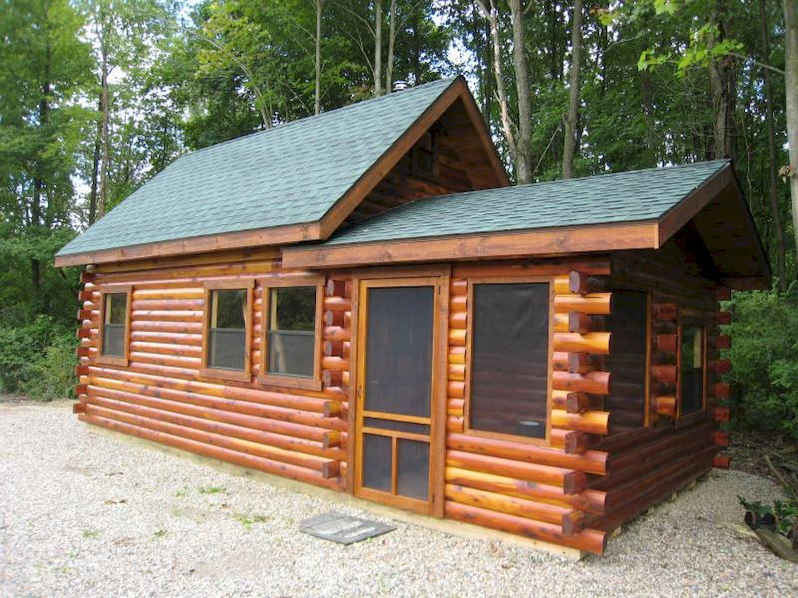 60 Rustic Log Cabin Homes Plans Design Ideas And Remodel (15)
