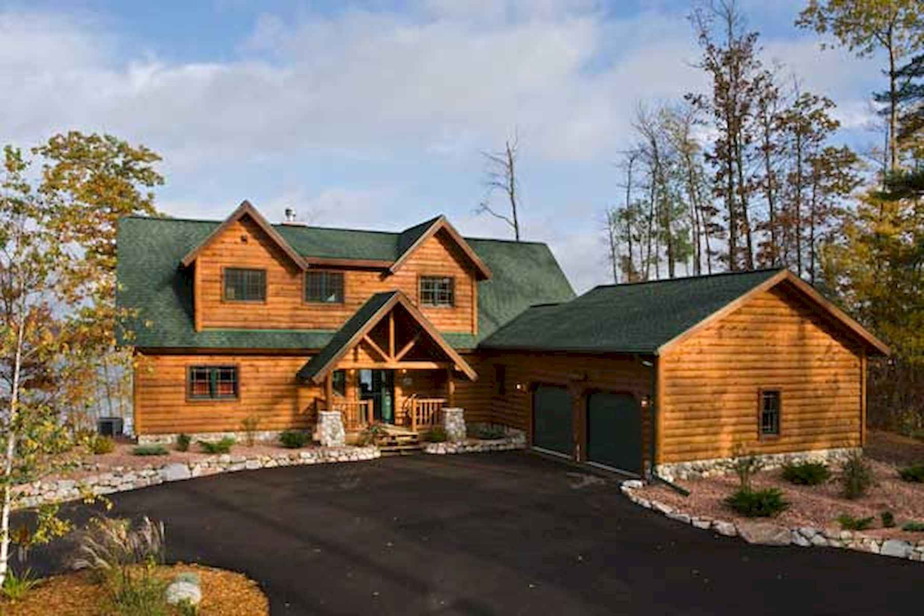 60 Rustic Log Cabin Homes Plans Design Ideas And Remodel (35)
