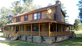 60 Rustic Log Cabin Homes Plans Design Ideas And Remodel (45)