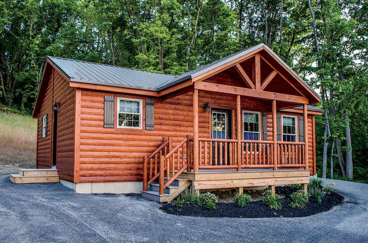 60 Rustic Log Cabin Homes Plans Design Ideas And Remodel (46)
