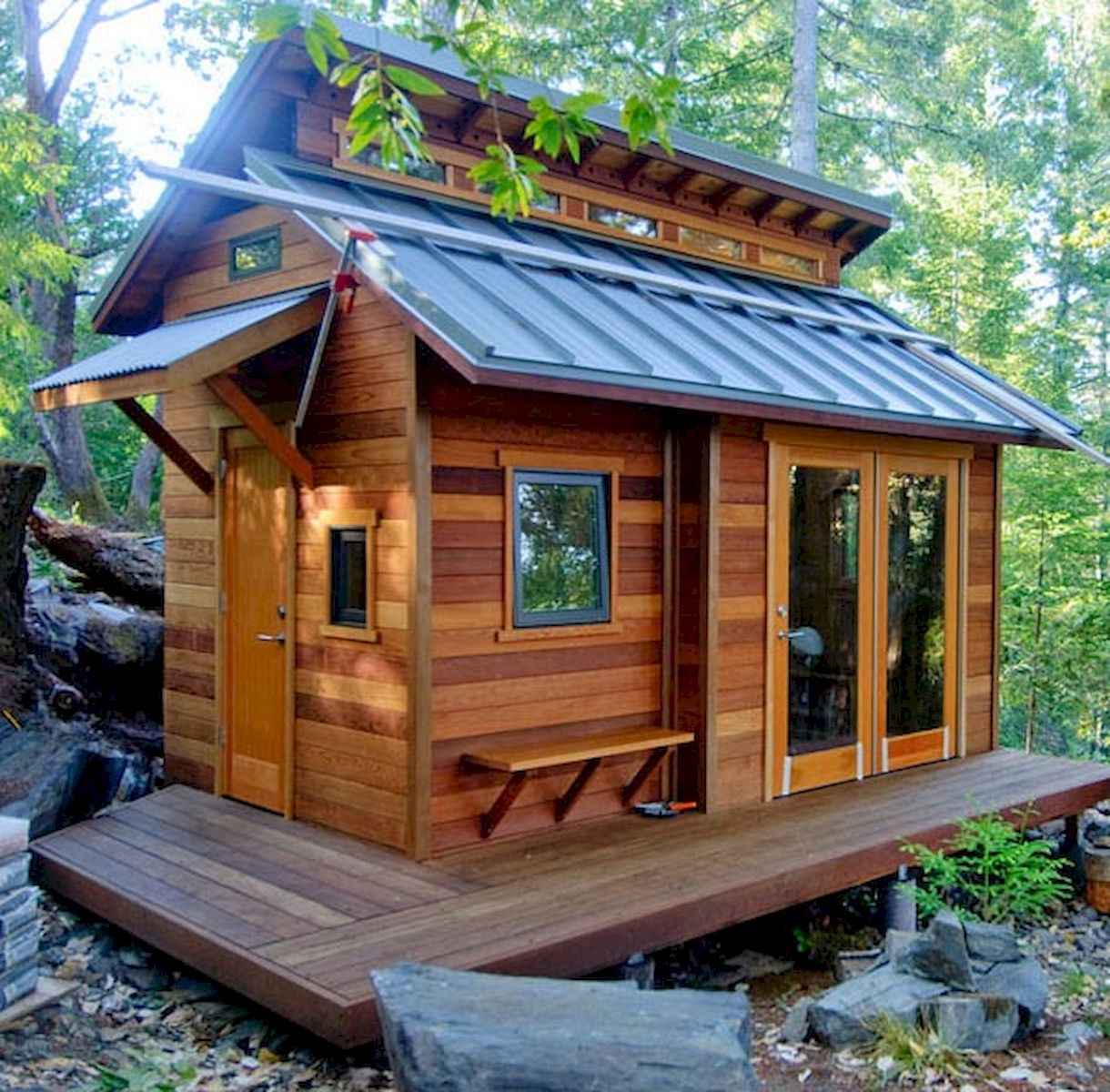 60 Rustic Log Cabin Homes Plans Design Ideas And Remodel (51)
