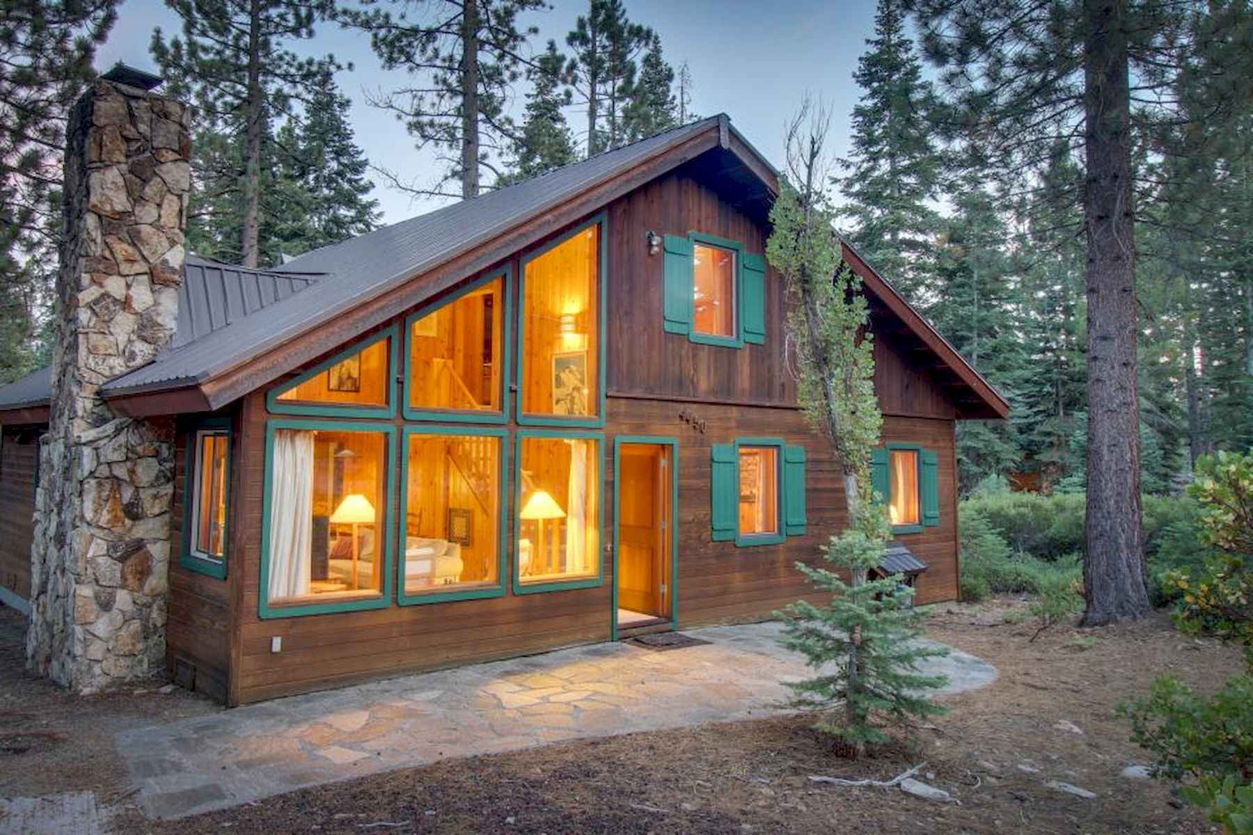 60 Rustic Log Cabin Homes Plans Design Ideas And Remodel (54)