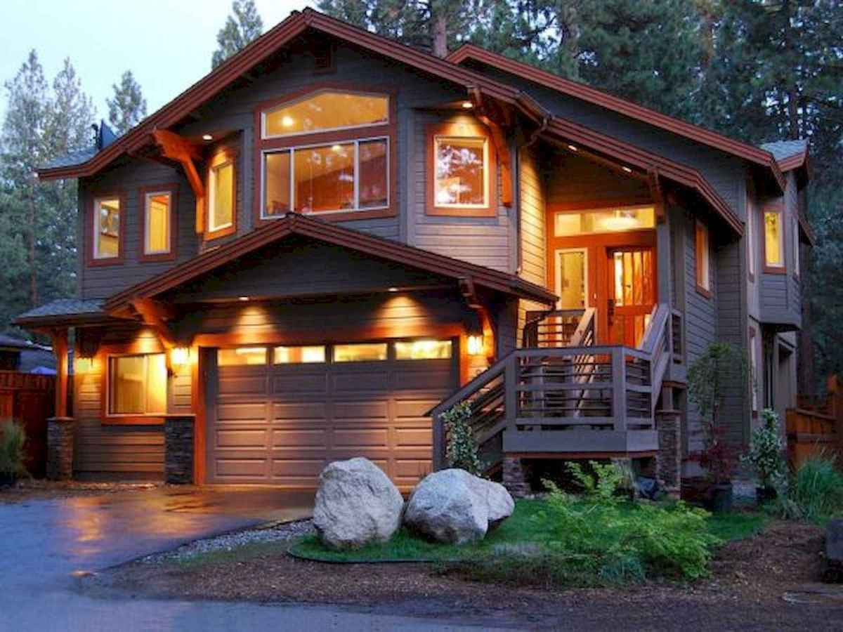 60 Rustic Log Cabin Homes Plans Design Ideas And Remodel (8)
