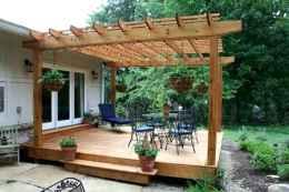 60 Stunning DIY Pergola Design Ideas And Remodel (14)