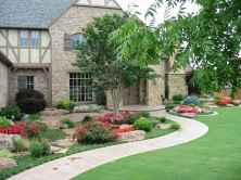 60 Stunning Low Maintenance Front Yard Landscaping Design Ideas And Remodel (11)