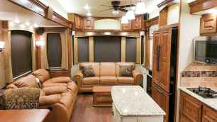 70 Stunning RV Living Camper Room Ideas Decorations Make Your Summer Awesome (58)