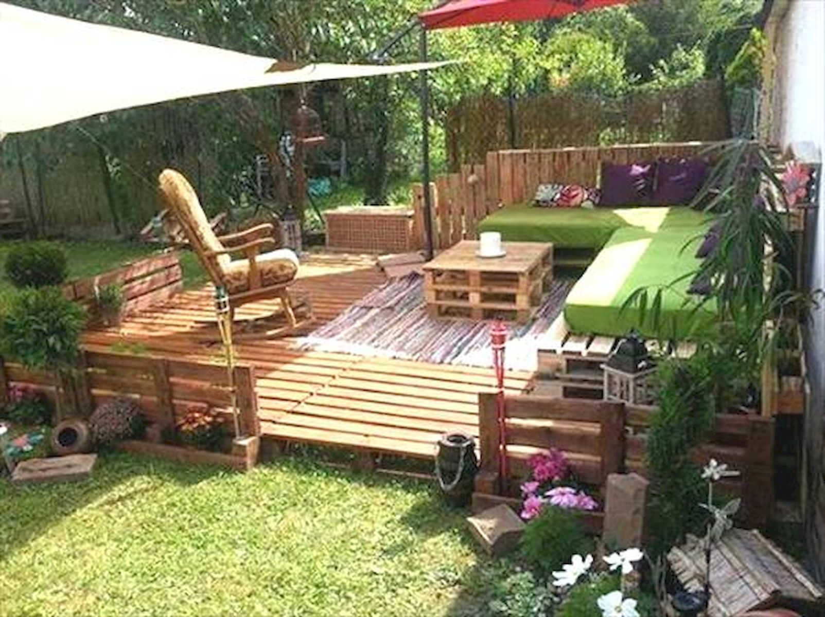 80 DIY Summery Backyard Projects Ideas Make Your Summer Awesome (10)