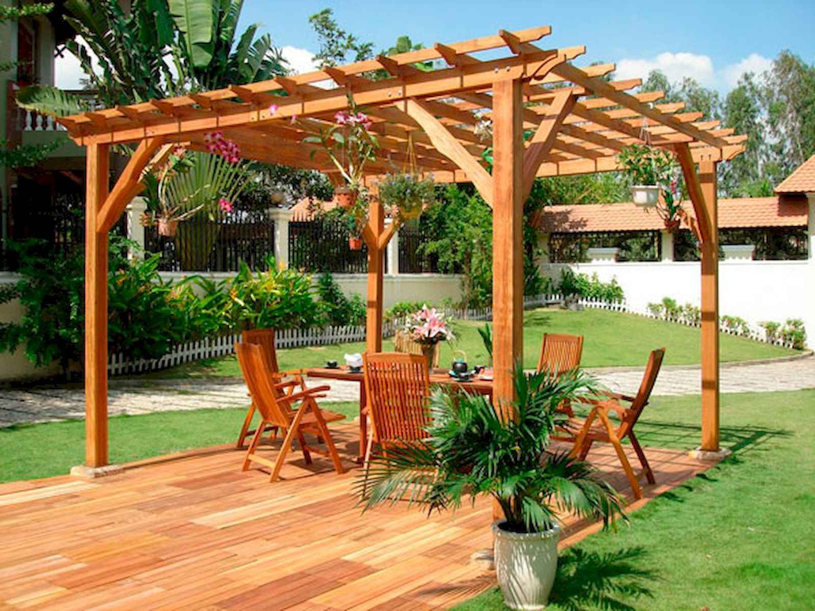 80 DIY Summery Backyard Projects Ideas Make Your Summer Awesome (58)