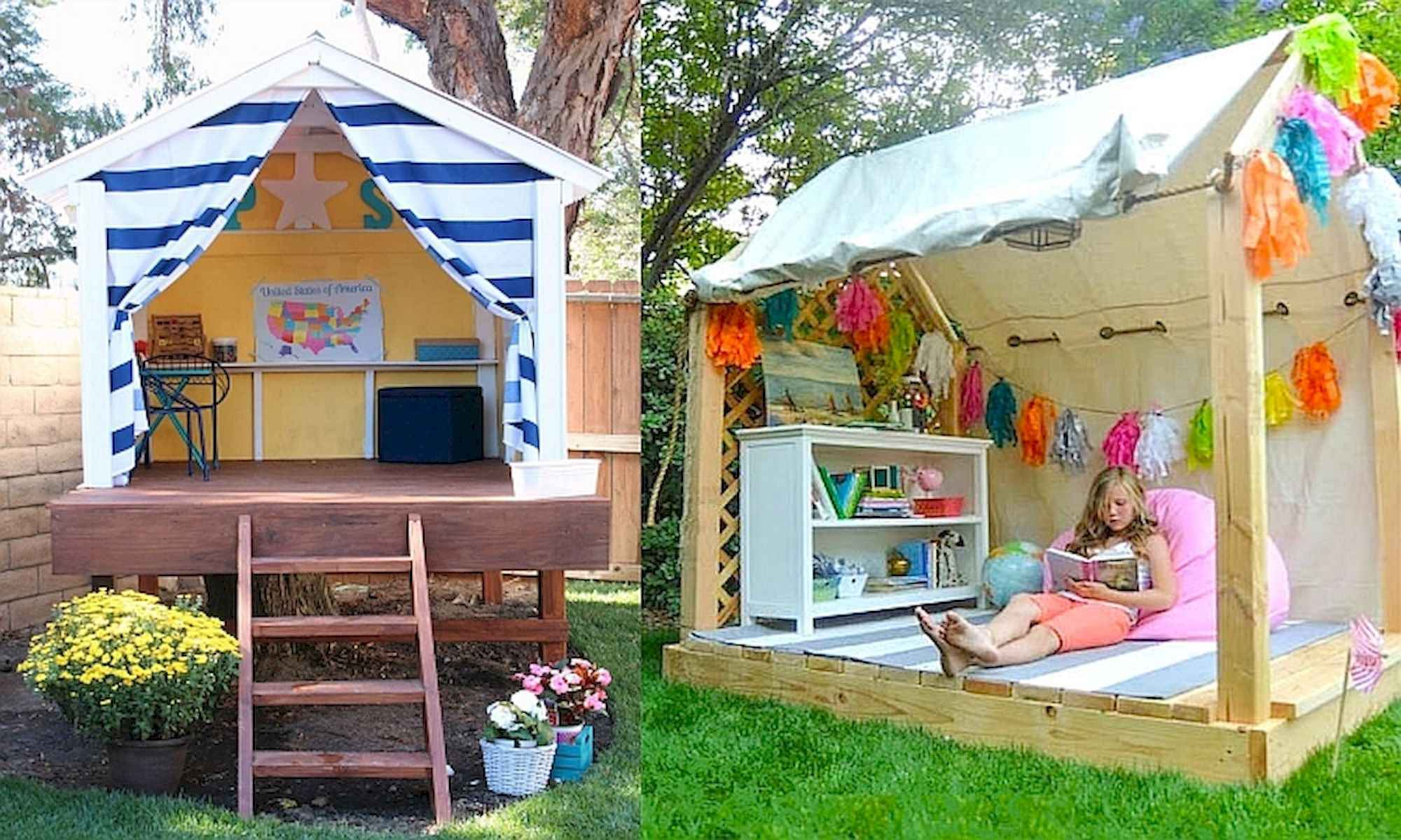 80 DIY Summery Backyard Projects Ideas Make Your Summer Awesome (68)