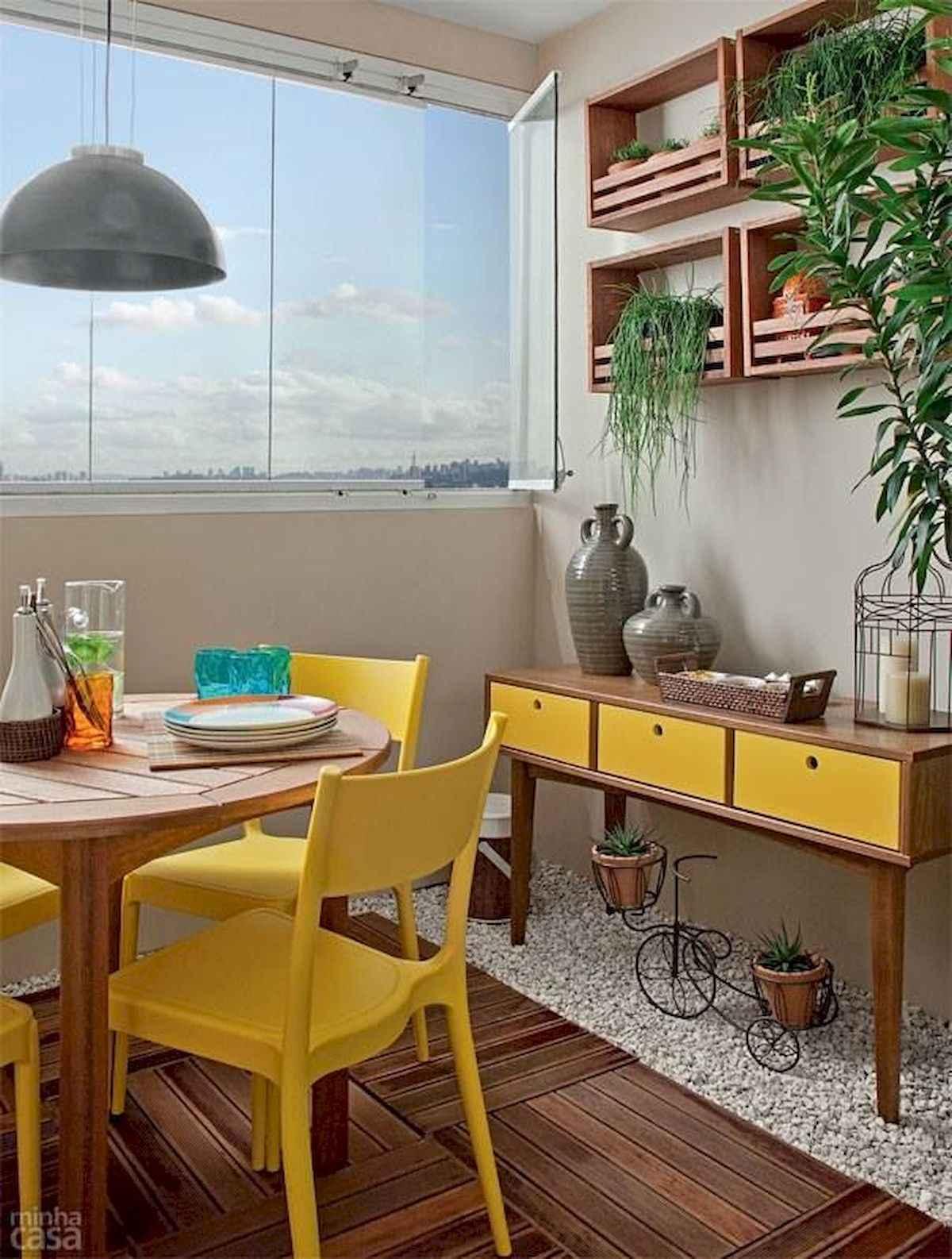 80 Small Apartment Balcony Decor Ideas And Makeover (16)