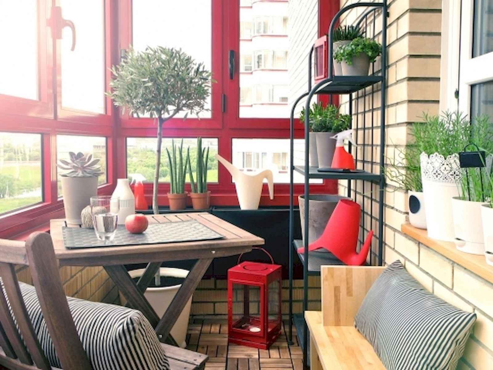 80 Small Apartment Balcony Decor Ideas And Makeover (18)