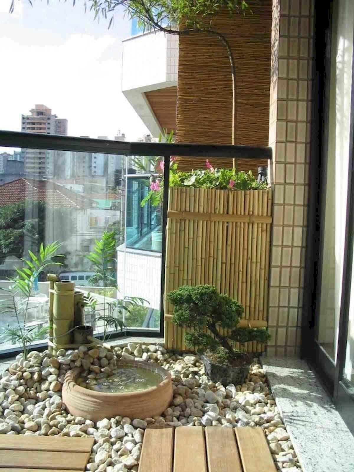 80 Small Apartment Balcony Decor Ideas And Makeover (19)