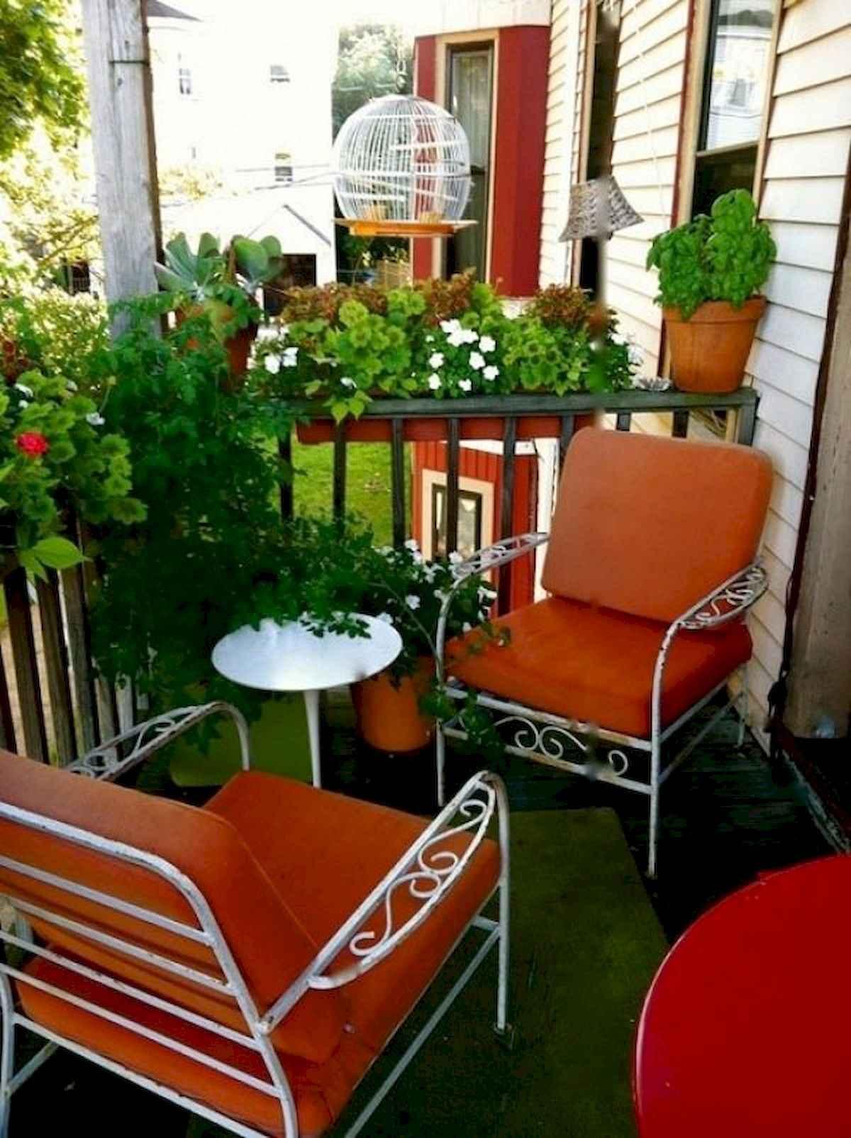 80 Small Apartment Balcony Decor Ideas And Makeover (28)