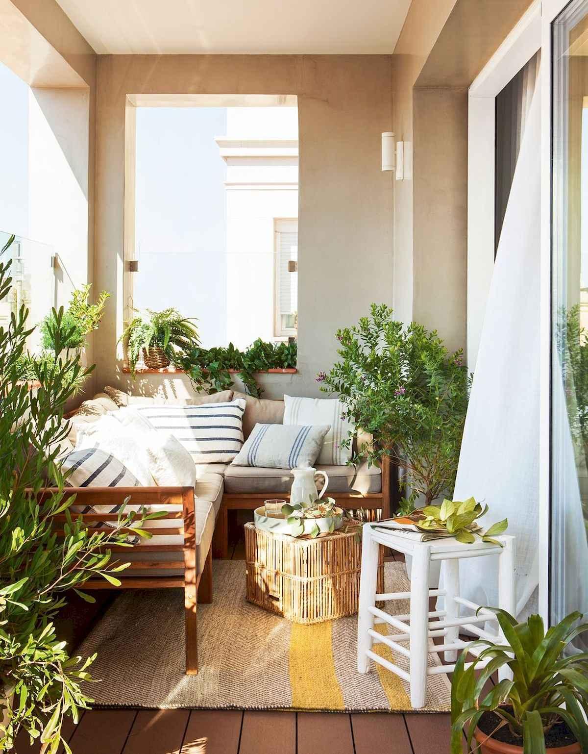 80 Small Apartment Balcony Decor Ideas And Makeover (3)
