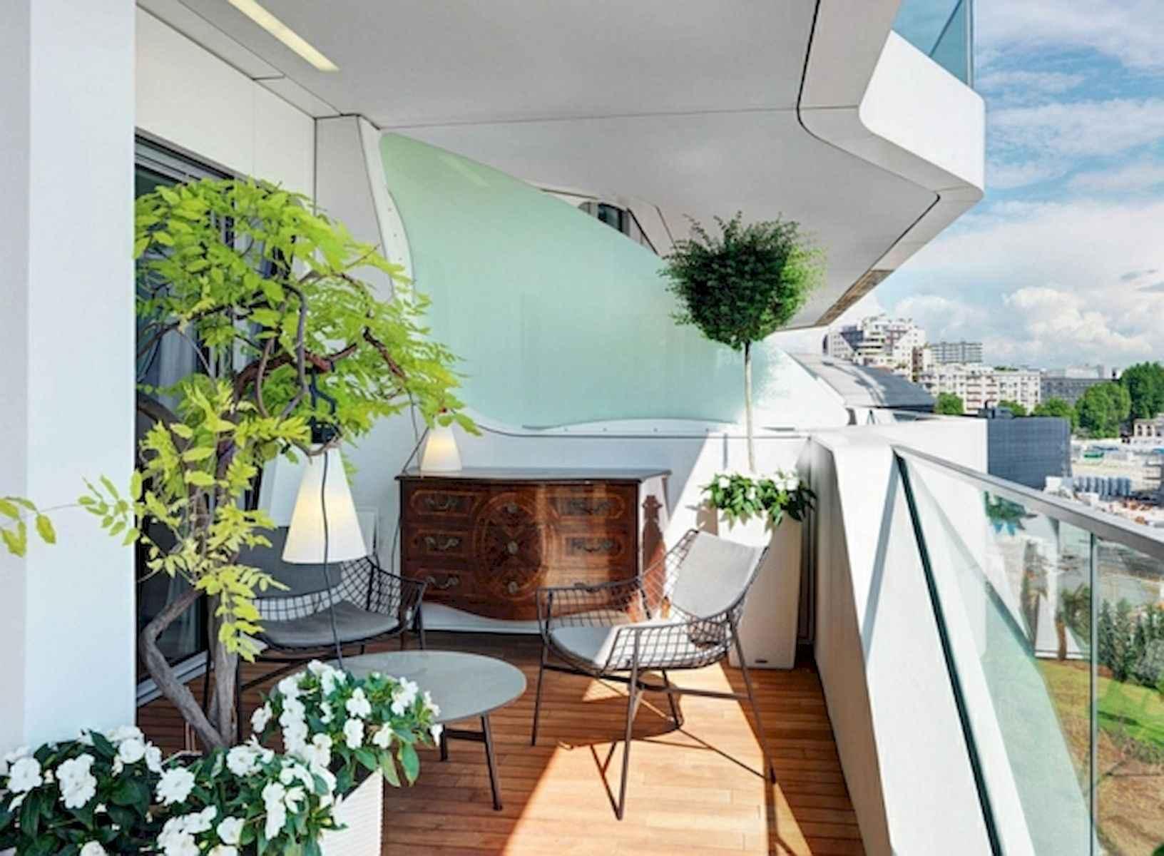 80 Small Apartment Balcony Decor Ideas And Makeover (38)