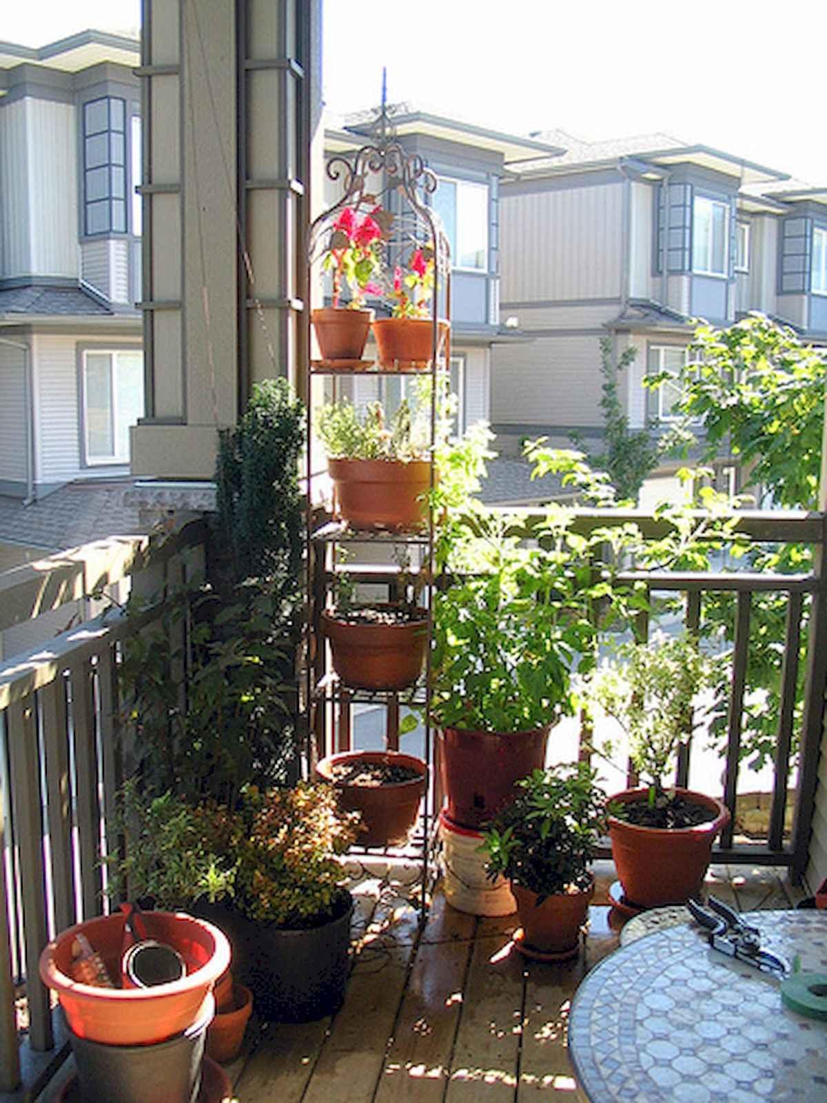 80 Small Apartment Balcony Decor Ideas And Makeover (44)