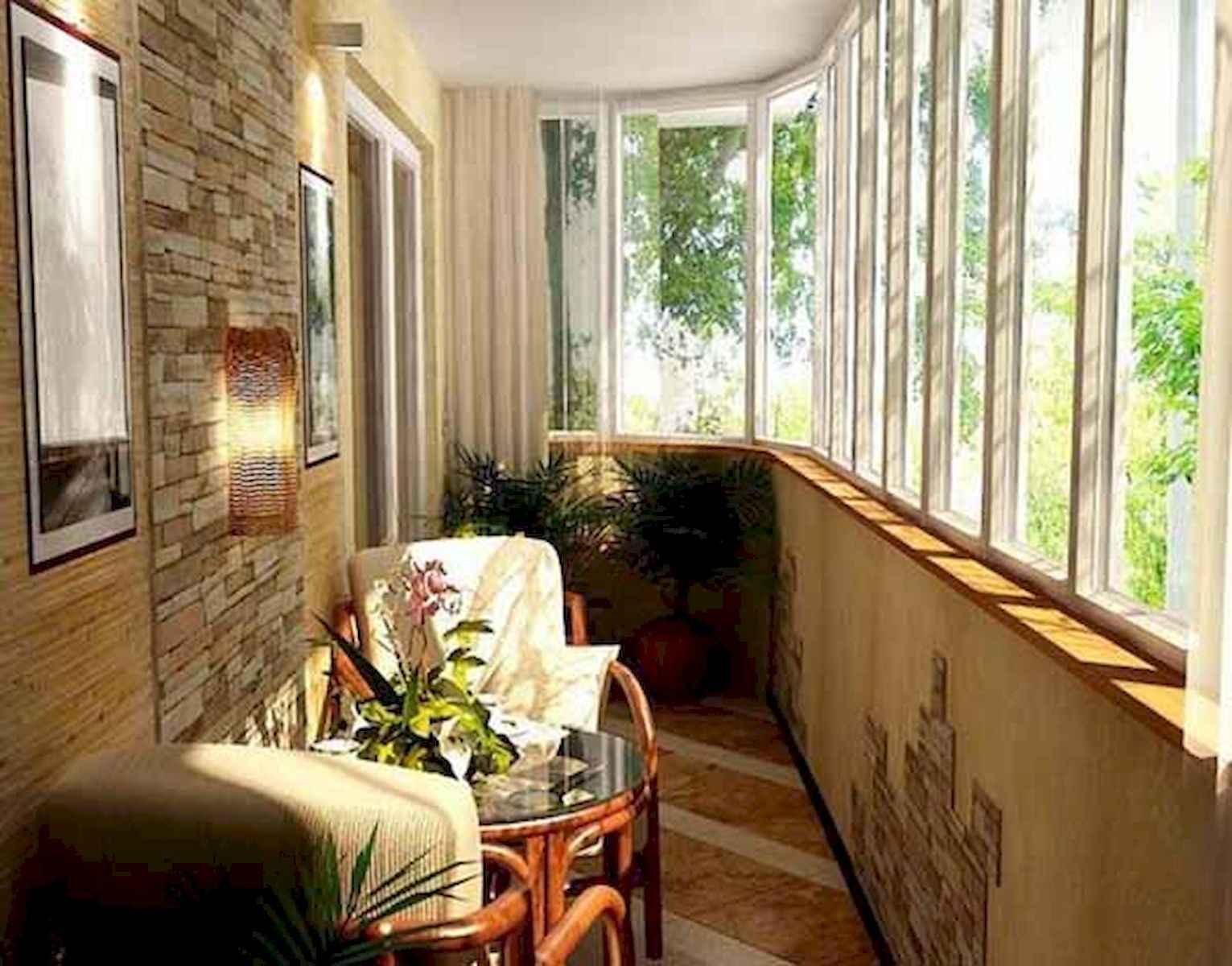 80 Small Apartment Balcony Decor Ideas And Makeover (47)
