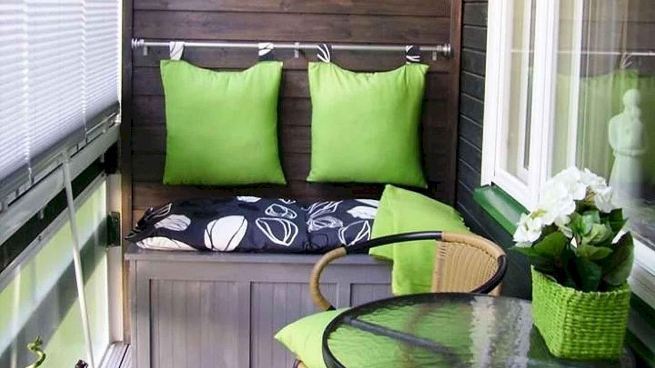 80 Small Apartment Balcony Decor Ideas And Makeover (58)